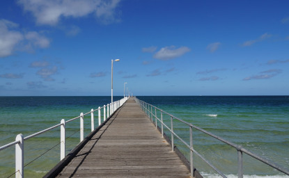 image of the pier at Tumby Bay, South Australia